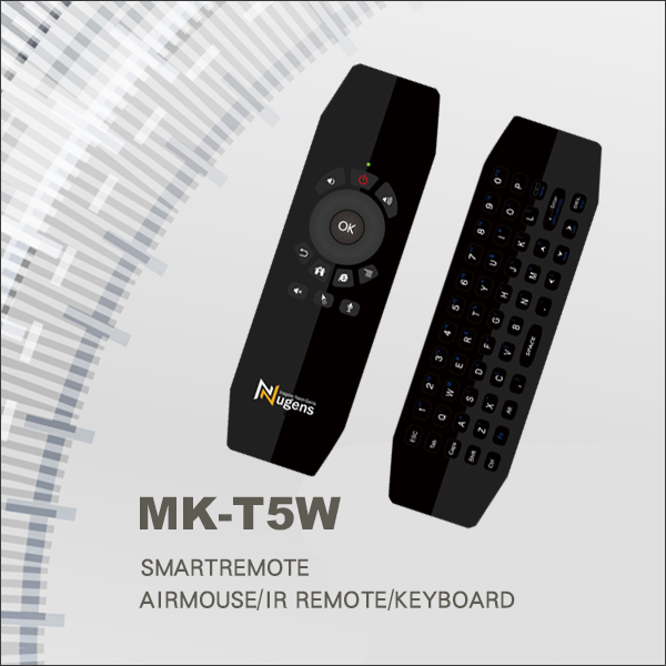 MK-T5W Wireless Air Mouse with Keyboard