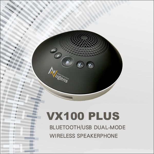 VX100 PLUS Wireless Bluetooth/USB Dual-Mode Speakerphone