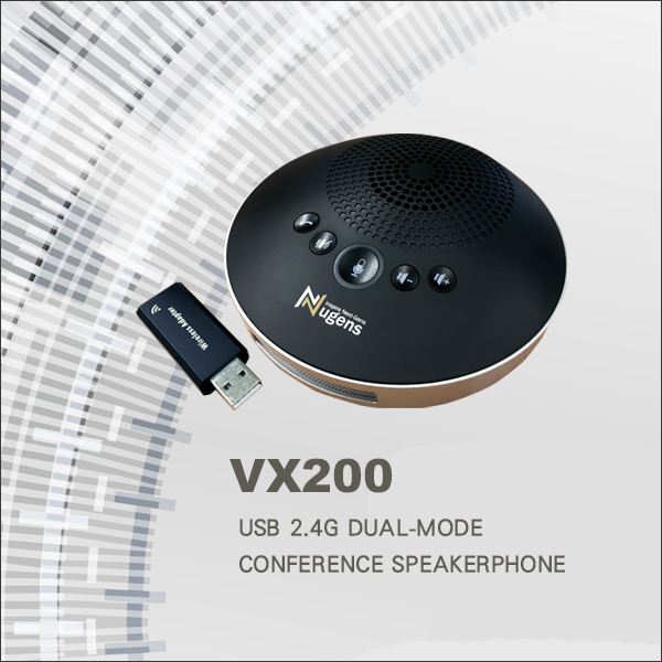 VX200 USB 2.4G Dual-Mode Conference Speakerphone